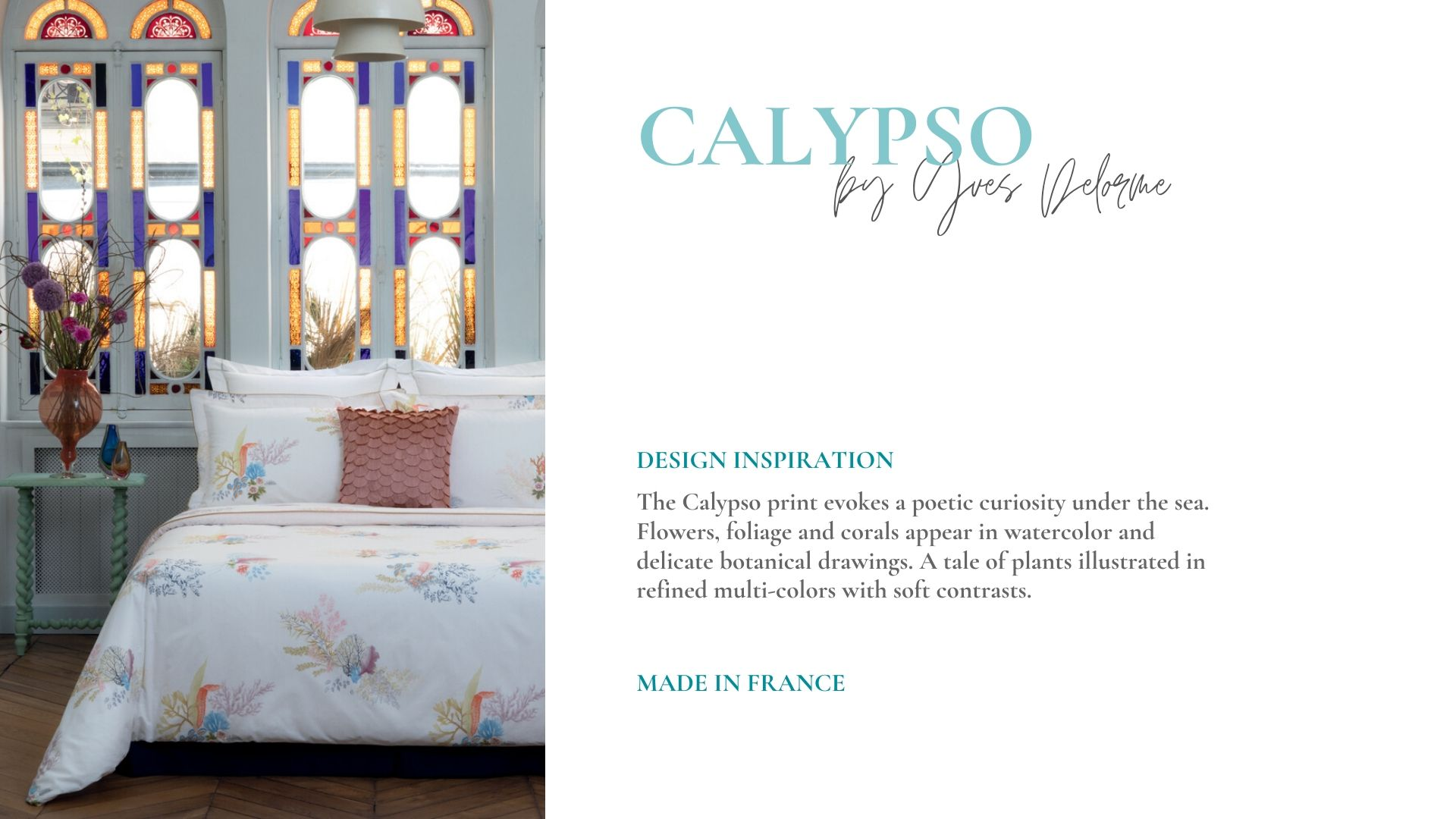 French Percale Bedding by Yves Delorme