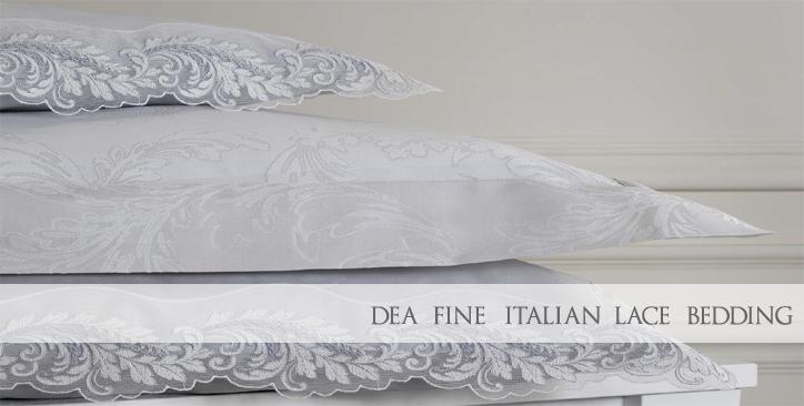 Fine Italian Lace Bedding