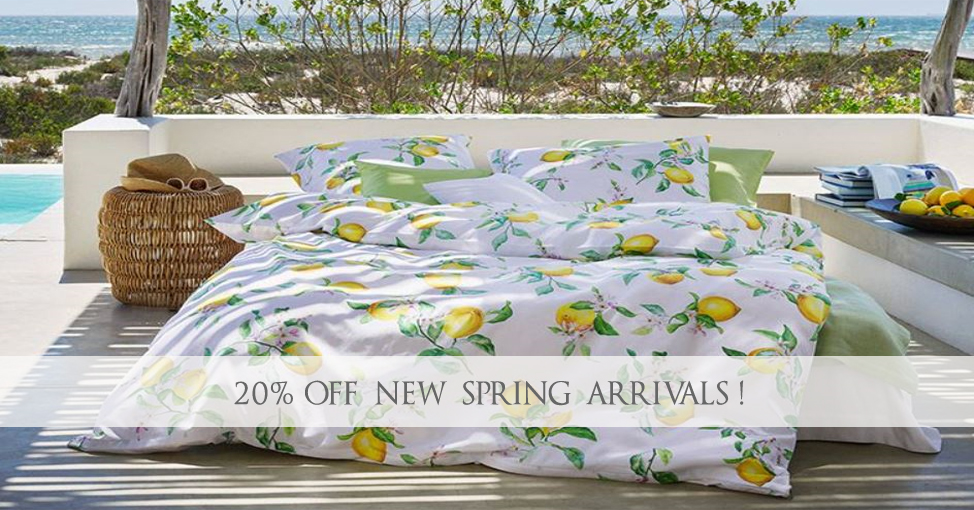 Luxury Bedding Collections New Spring Linens