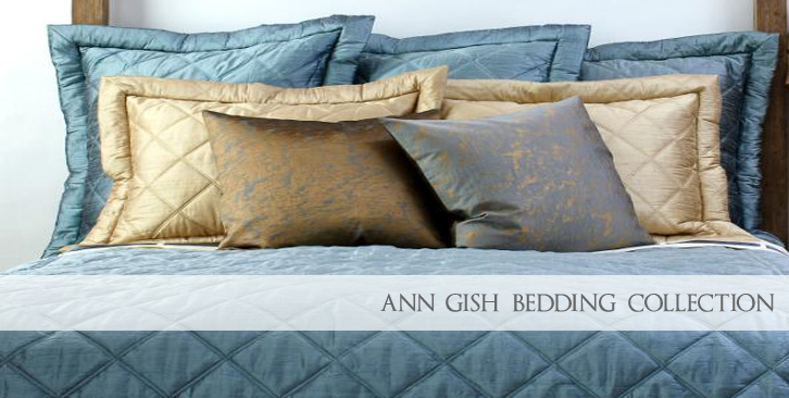 Ann Gish Luxurious Silk Bedding Collections