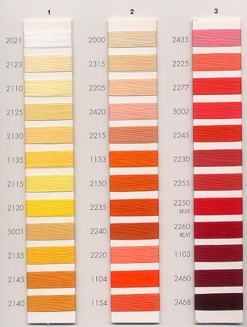 Aurifil Thread Colors
