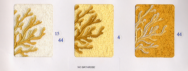 Embroidered Towels Made in Italy