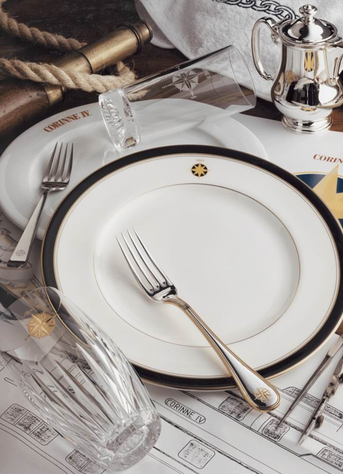 Custom Yacht Dinnerware