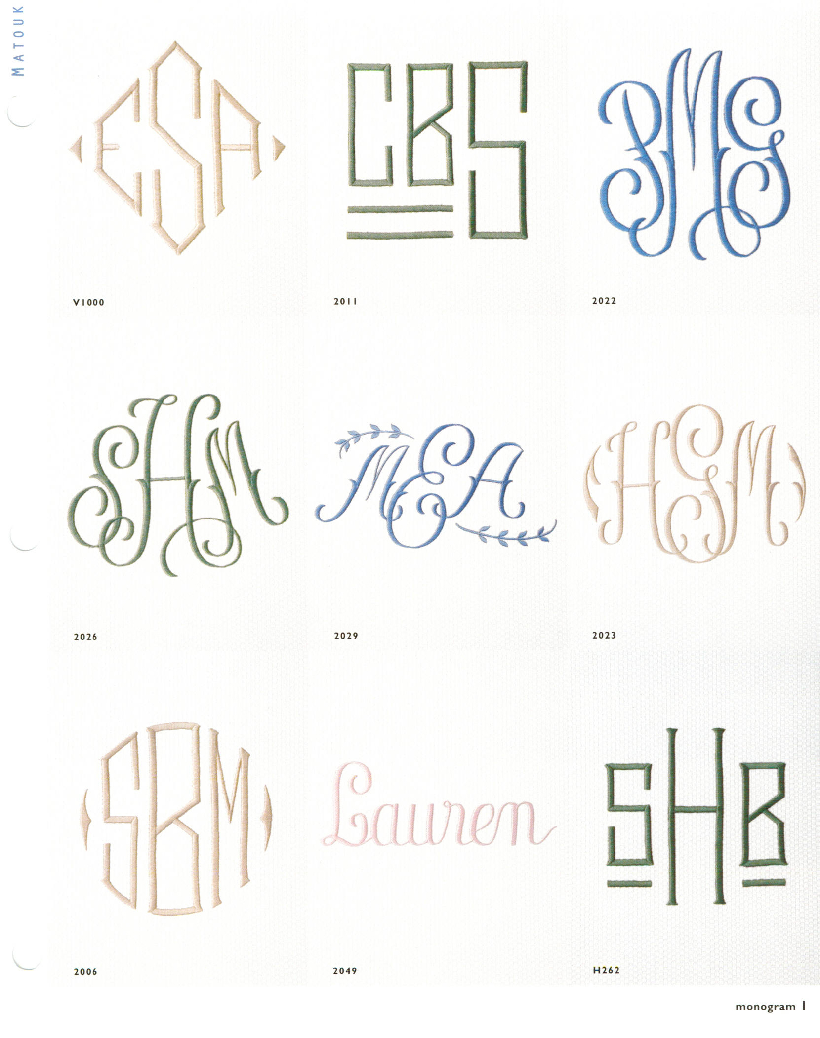 Home interior design 2015 monogramming styles for Monogram homes