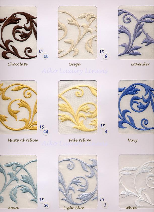 Dea Linens Ramages Colors