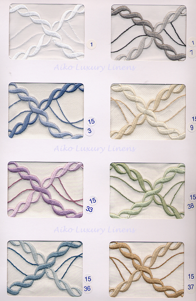 Dea Sorrento Embroidery Colors